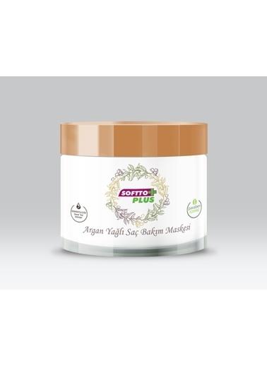 Softto Plus Argan Yağlı Saç Bakım Maskesi Renksiz